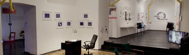 Networked Disruption Exhibition Galerija ŠKUC Aksioma