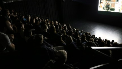 screening Dust&Illusion @Stara Elektrarna