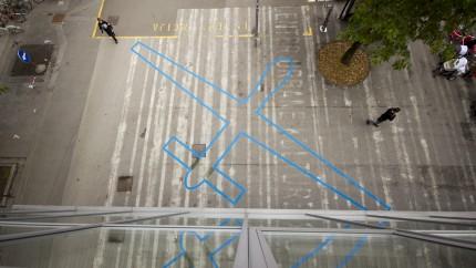 Drone Shadow Ljubljana